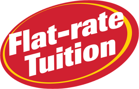 Flat rate tuition badge